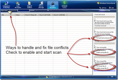 Add-In: Windows Home Server Conflict Resolver 1.1