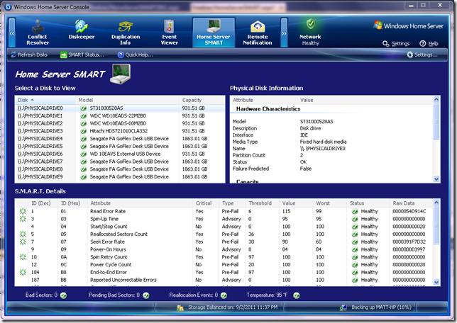 Add-in Update:Home Server SMART 2.0.8.25