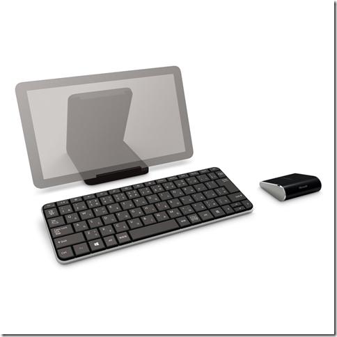 Windows 8 にぴったりで Android でも使える BTキーボード Microsoft Wedge Mobile Keyboard が発売