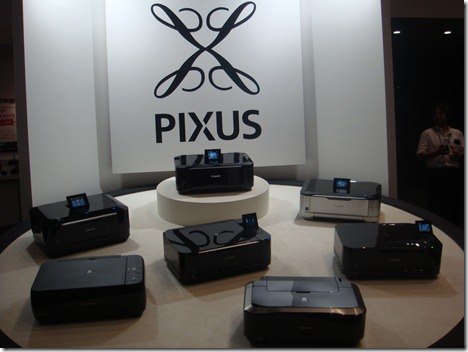 Canon の新しいPIXUSに触れてきました