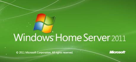Windows Home Server 2011 のRC(製品候補)版が公開されました