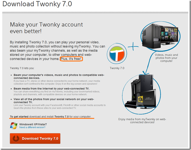 Add-in Update:Twonky 7.0 と My Twonky