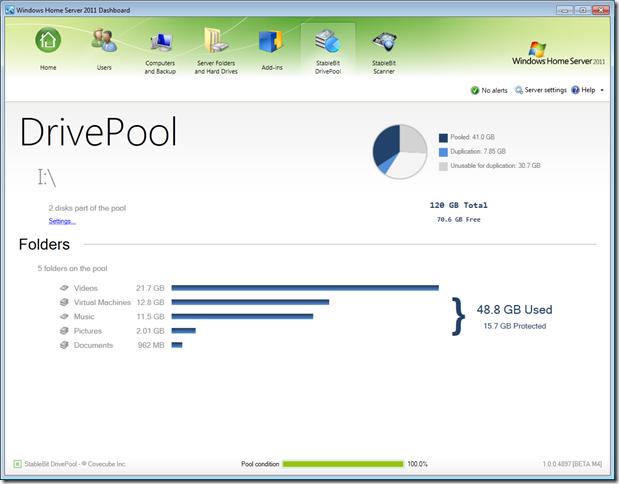 DE代替ソリューション、DrivePoolは年末から来年にかけてMilestone 4 に移行する見込み