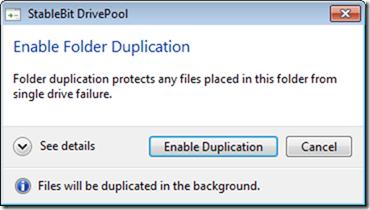 "DrivePool M4における""フォルダの複製""の2つの方法"