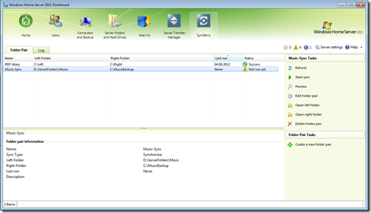 Add-in: SyncBerry v1.0.0.1010