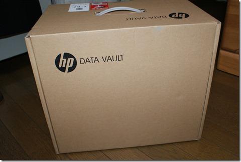 HP DataVaultを開梱してみた