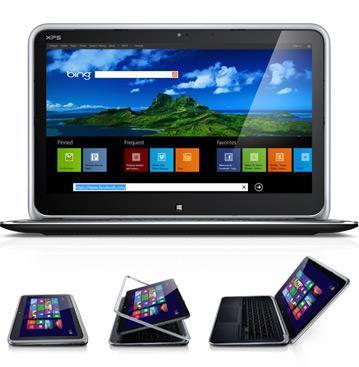 回転型タッチディスプレイ機構搭載のWindows 8 ノート Dell XPS 12 Duo を買いました