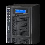 Thecus社がThecus W4810 を発表。Celeron搭載のCPU強化モデル